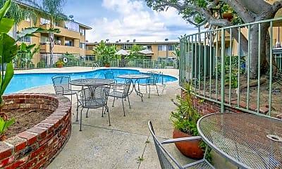 Pool, Casa Serranna Apartments, 1