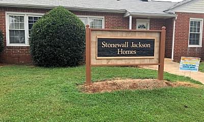 Stonewall Jackson Homes, 1