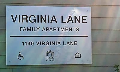 Virginia Lane Apartments, 1