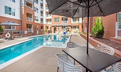 Pool, The Metropolitan Apartments, 1