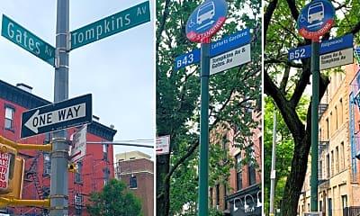 Community Signage, 550 Gates Ave, 2