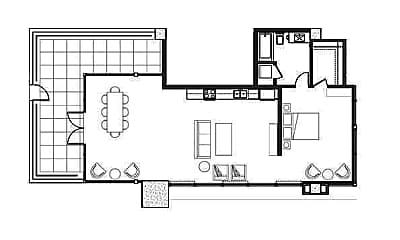 Living Room, 440 Upas St, 1