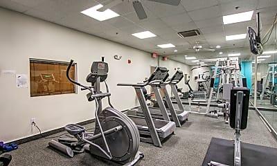 Fitness Weight Room, Cedar Court, 1