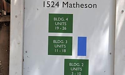 Building, 1524 Matheson Rd, 1