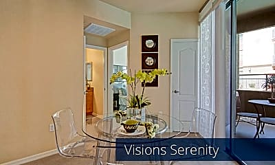 Dining Room, Visions Apartment Homes, 1