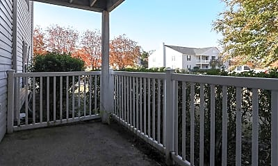 Patio / Deck, Cottonwood Apartments, 2