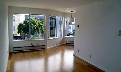 Living Room, 1370 Noe St, 0