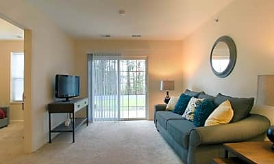 Living Room, Glenwood Square Senior Apartments, 1