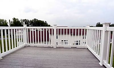 Patio / Deck, Waterview at Willowpoint Townhomes, 2