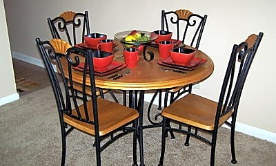 Dining Room, CONTINENTAL SQUARE APARTMENTS, 0