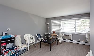 Living Room, 1401 W Warner Ave 1A, 1