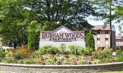 Community Signage, Burnam Woods Apartments, 2