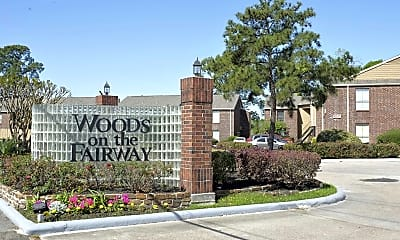 Community Signage, Woods on the Fairway, 2