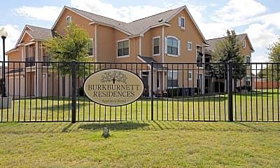 Community Signage, Burkburnett Residences, 2
