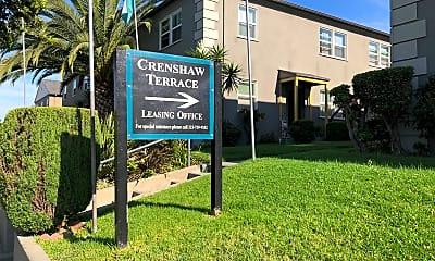 Crenshaw Terrace, 1