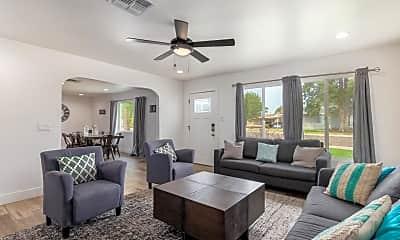 Living Room, 8709 E Terrace Dr, 1