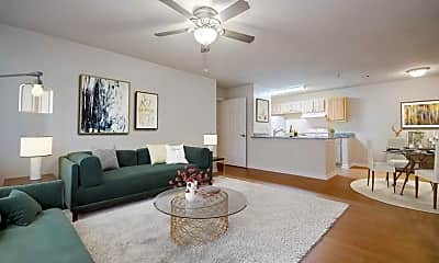 Living Room, Riverstock Apartments, 0
