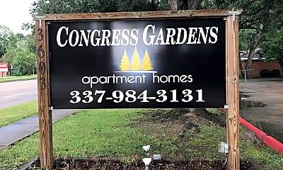 Congress Gardens Apartments, 1