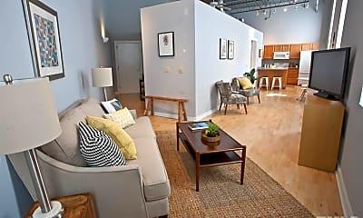 Living Room, 700 Market St 206, 0