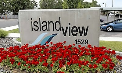 Community Signage, Island View Apartments, 2