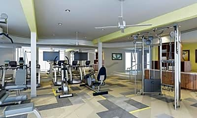 Fitness Weight Room, 1377 Dresden Drive, 1
