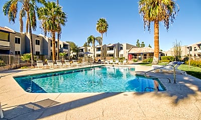 Pool, The Agave Apartments, 0