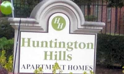 Community Signage, Huntington Hills, 2