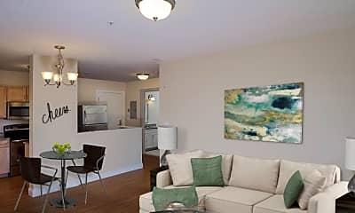 Living Room, Burnham Apartment Building, 1