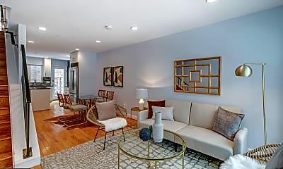Living Room, 2609 Catharine St, 1