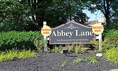 Community Signage, Abbey Lane, 2