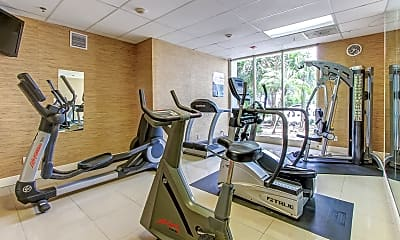 Fitness Weight Room, Fort Lauderdale Grand, 2