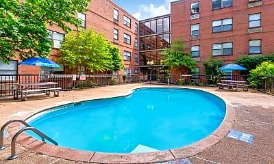 Pool, Audubon Park Place, 1