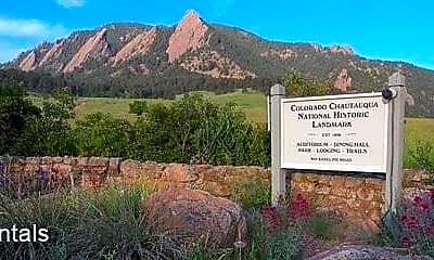 Community Signage, 836 13th St, 2
