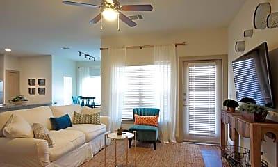 Living Room, The Columns at Shadow Creek Ranch, 1
