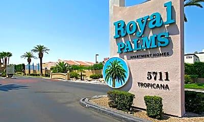 Community Signage, Royal Palms, 2