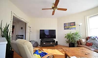 Living Room, 1474 Commonwealth Avenue, 1