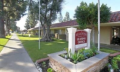 Community Signage, Mariposa, 2