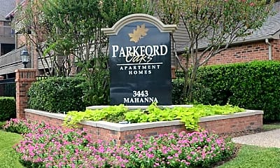 Community Signage, Parkford Oaks, 1