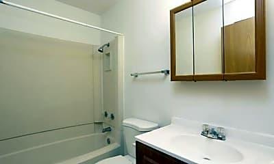 Bathroom, Park Forest Apartments, 2