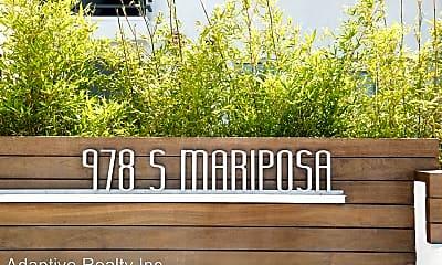 Community Signage, 978 S Mariposa Ave, 2