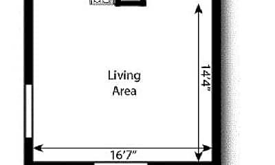 Living Room, 1362 St Paul St, 2