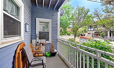 Patio / Deck, 279 Washington St., #1, 2