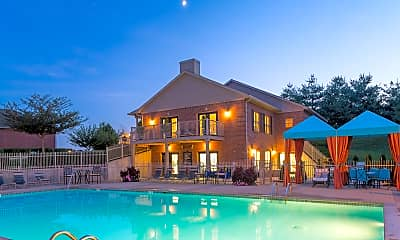 Pool, Wyndamere Apartments, 1