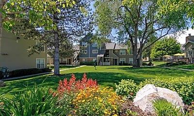 Courtyard, Broadmoor Village, 2