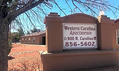 Western Carolina Apartments, 1