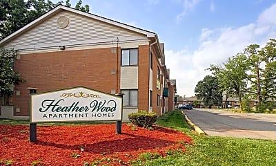 Community Signage, Heatherwood Apartments, 2