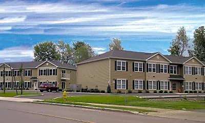 Building, Flint Road Apartments, 1