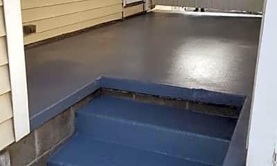 Patio / Deck, 277 Warren St A, 2