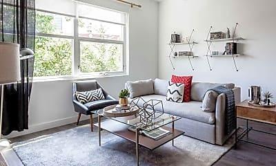 Living Room, Centrum Evanston, 1