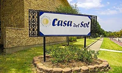 Community Signage, Casa Del Sol Apartments, 2